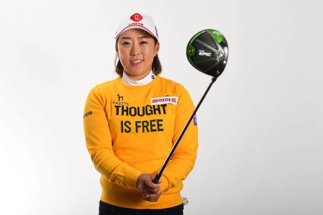 LPGA公式プロフィール写真 キムヘリム3<Photo:Atsushi Tomura/Getty Images>