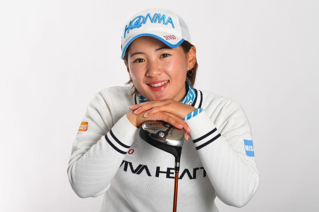 LPGA公式プロフィール写真 永井花奈3<Photo:Atsushi Tomura/Getty Images>