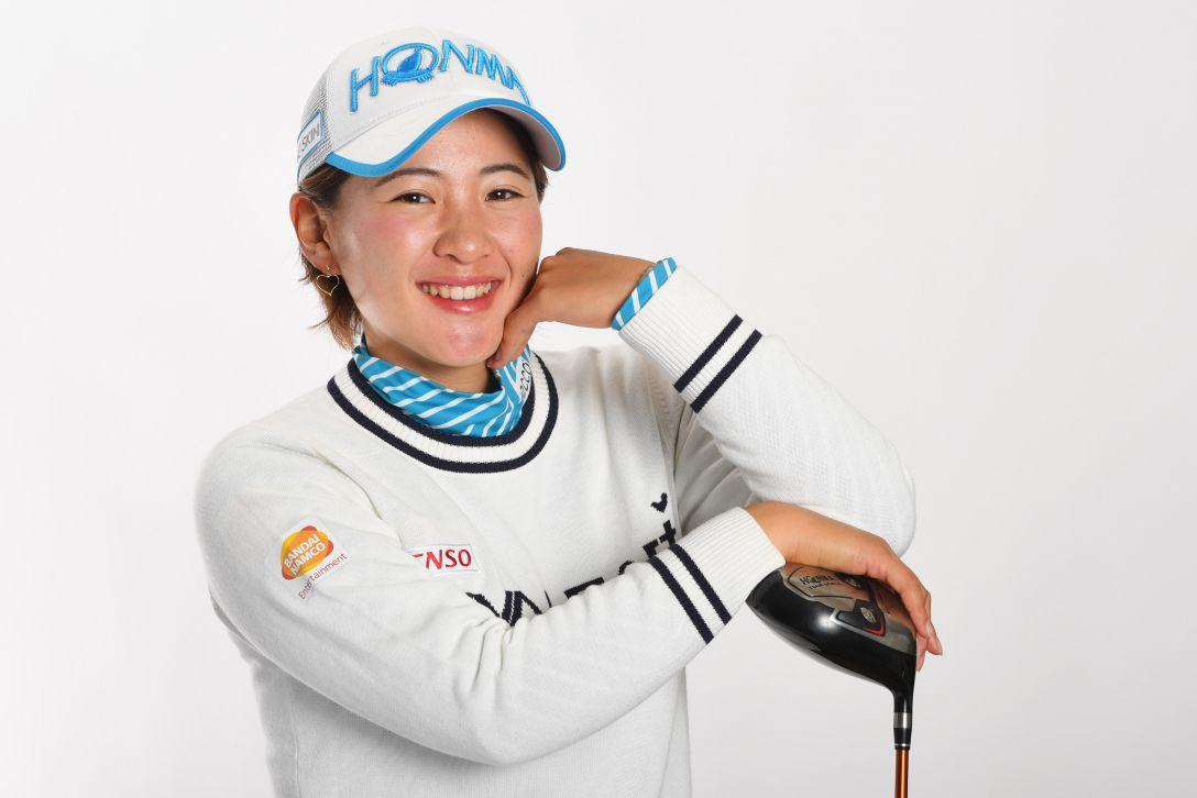 LPGA公式プロフィール写真 永井花奈4<Photo:Atsushi Tomura/Getty Images>