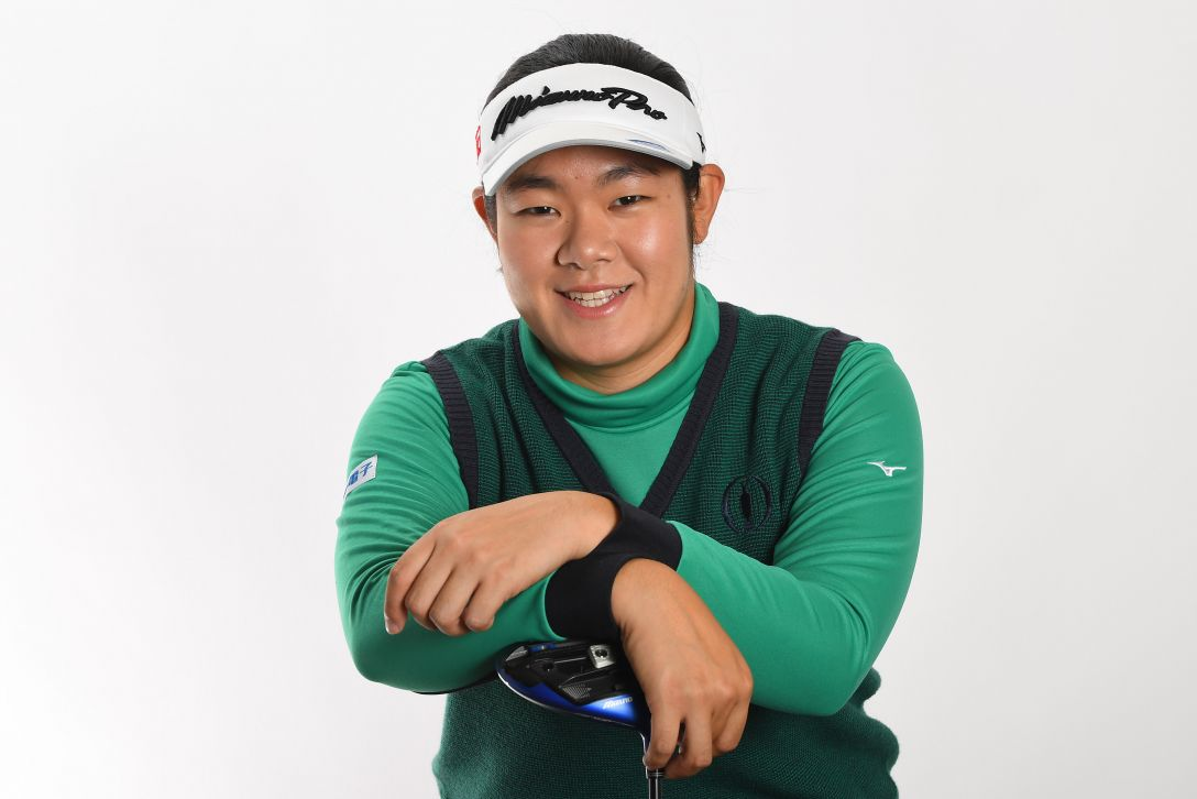 LPGA公式プロフィール写真 川岸史果1<Photo:Atsushi Tomura/Getty Images>