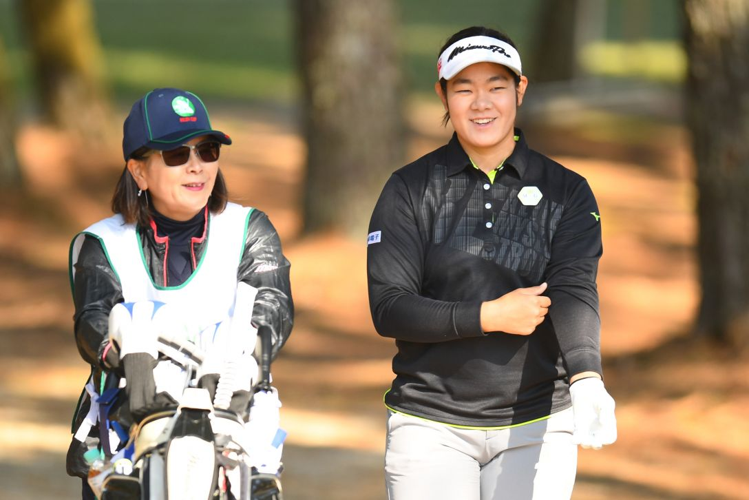 LPGAツアーチャンピオンシップリコーカップ 2日目 川岸史果 <Photo:Atsushi Tomura/Getty Images>
