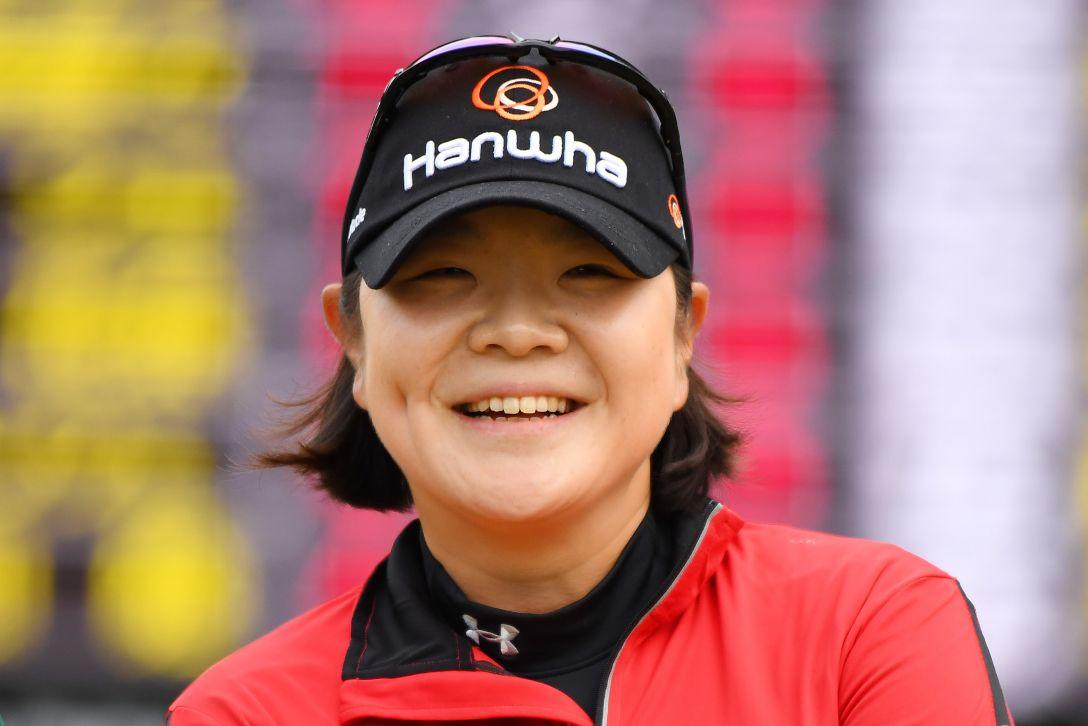 LPGAツアーチャンピオンシップリコーカップ 3日目 イミニョン <Photo:Atsushi Tomura/Getty Images>