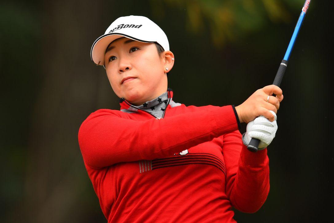 LPGAツアーチャンピオンシップリコーカップ 最終日 申ジエ <Photo:Atsushi Tomura/Getty Images>