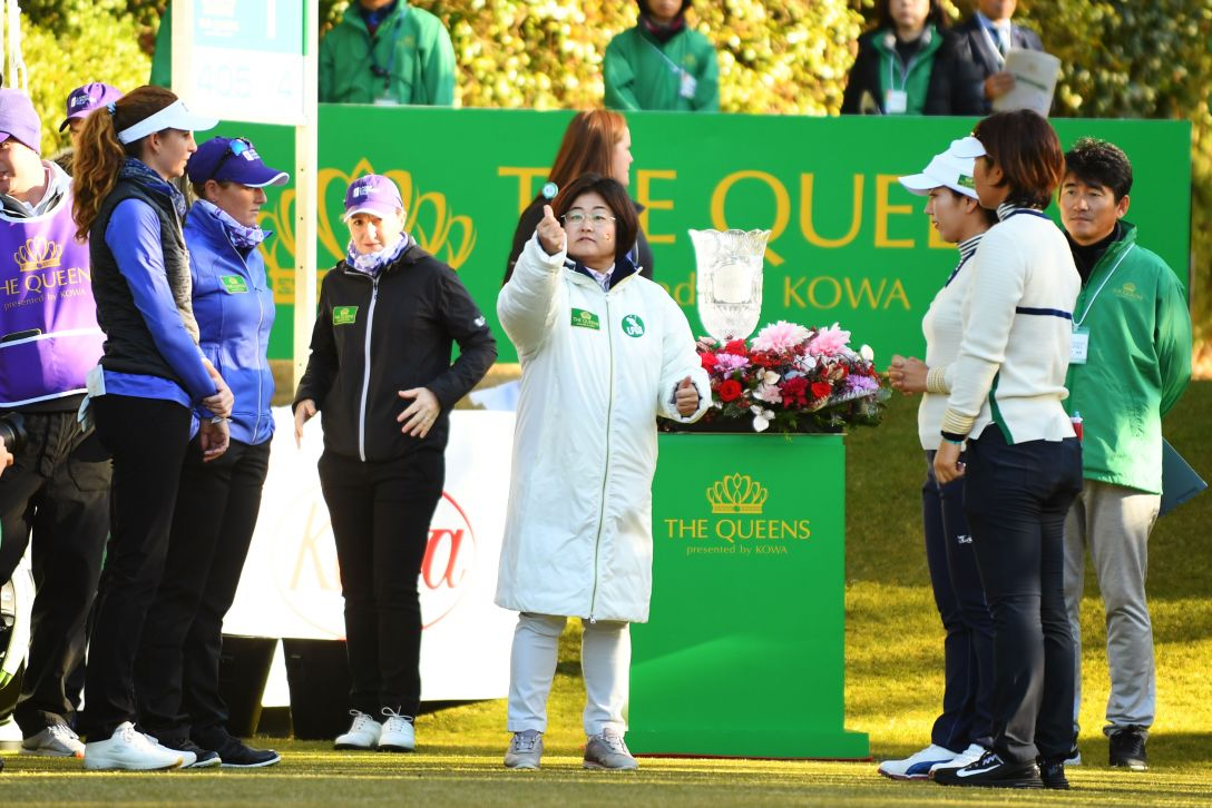 THE QUEENS presented by KOWA 原田香里<Photo:Atsushi Tomura/Getty Images>