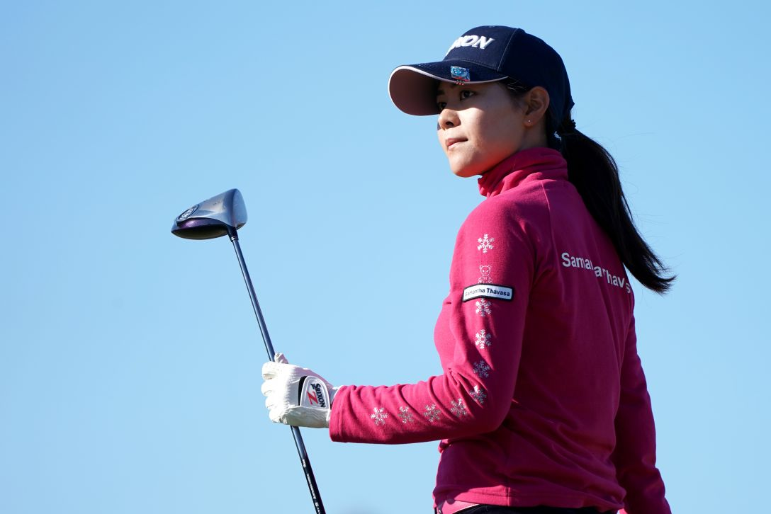 LPGA新人戦 加賀電子カップ 1日目 新垣比菜 <Photo:Masterpress/Getty Images>