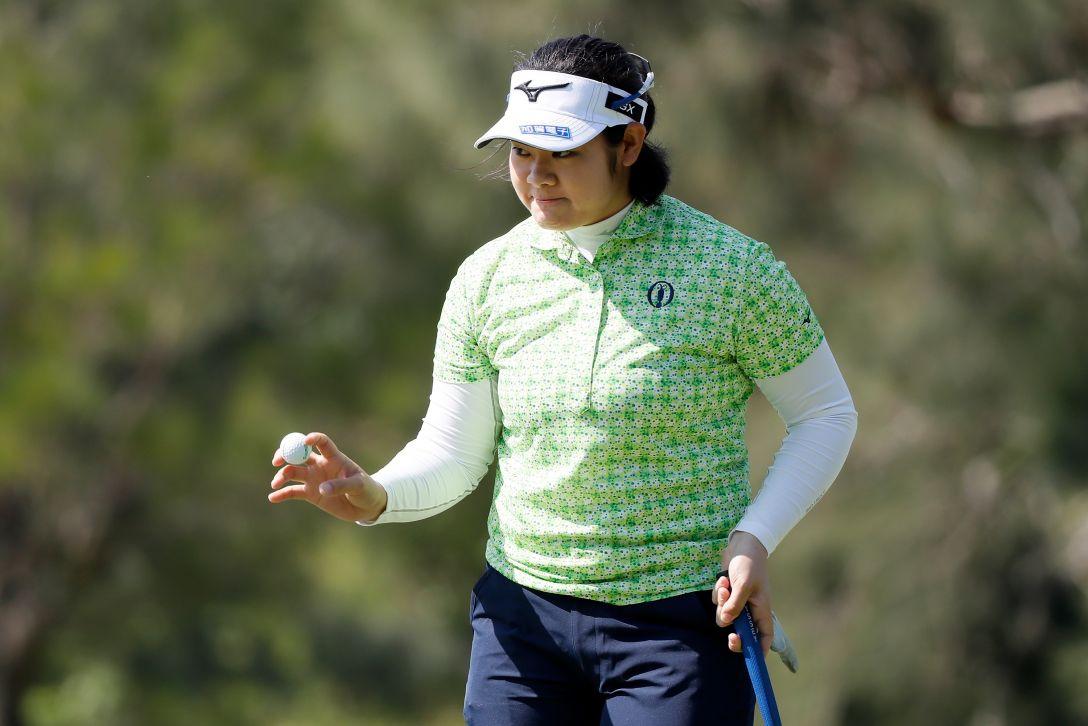 ダイキンオーキッドレディスゴルフトーナメント 1日目 川岸史果 <Photo:Ken Ishii/Getty Images>