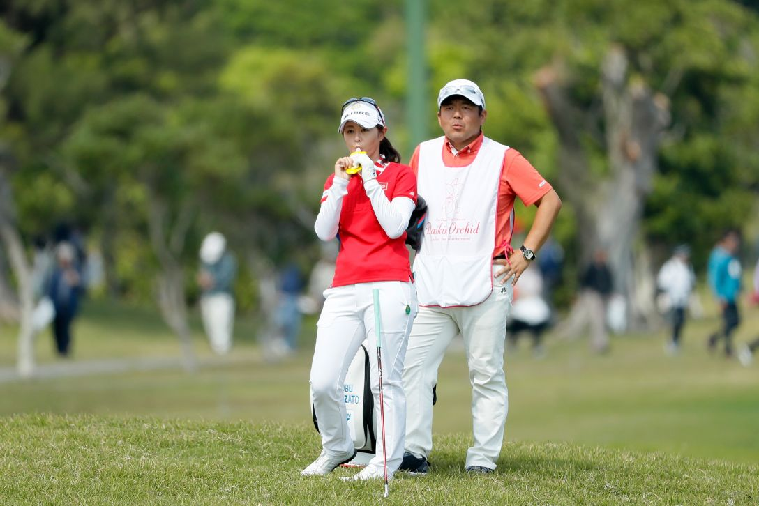 ダイキンオーキッドレディスゴルフトーナメント 2日目 諸見里しのぶ <Photo:Ken Ishii/Getty Images>