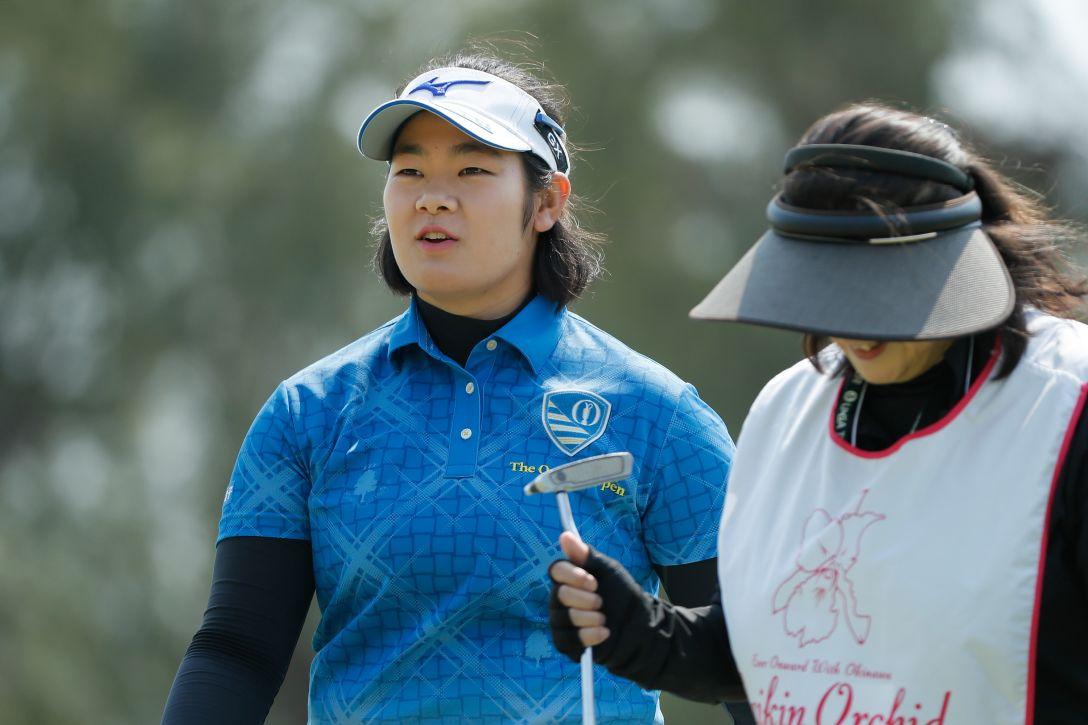ダイキンオーキッドレディスゴルフトーナメント 2日目 川岸史果 <Photo:Ken Ishii/Getty Images>