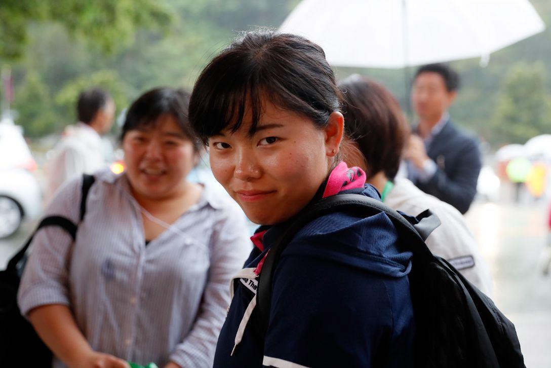 ダイキンオーキッドレディスゴルフトーナメント 3日目 勝みなみ <Photo:Ken Ishii/Getty Images>