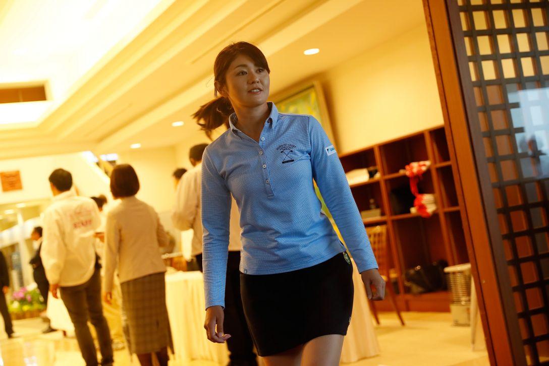 ダイキンオーキッドレディスゴルフトーナメント 3日目 諸見里しのぶ <Photo:Ken Ishii/Getty Images>