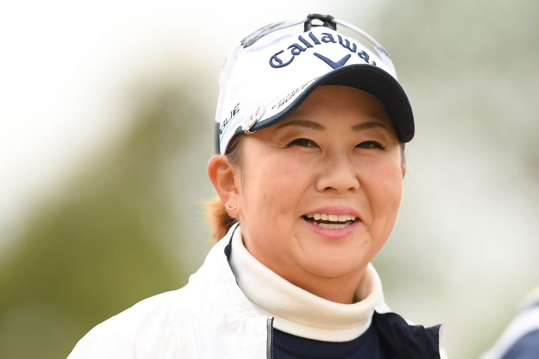 ヨコハマタイヤゴルフトーナメント PRGRレディスカップ 第1日 佐伯三貴 <Photo:Atsushi Tomura/Getty Images>