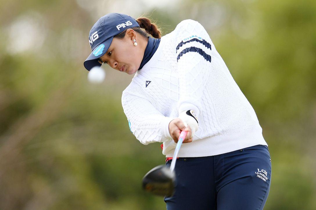 ヨコハマタイヤゴルフトーナメント PRGRレディスカップ 第1日 鈴木愛 <Photo:Atsushi Tomura/Getty Images>