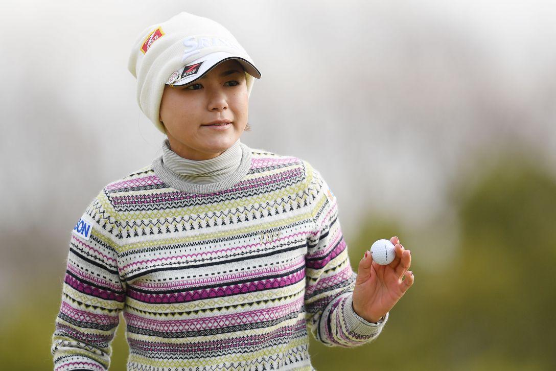 ヨコハマタイヤゴルフトーナメント PRGRレディスカップ 第1日 横峯さくら <Photo:Atsushi Tomura/Getty Images>
