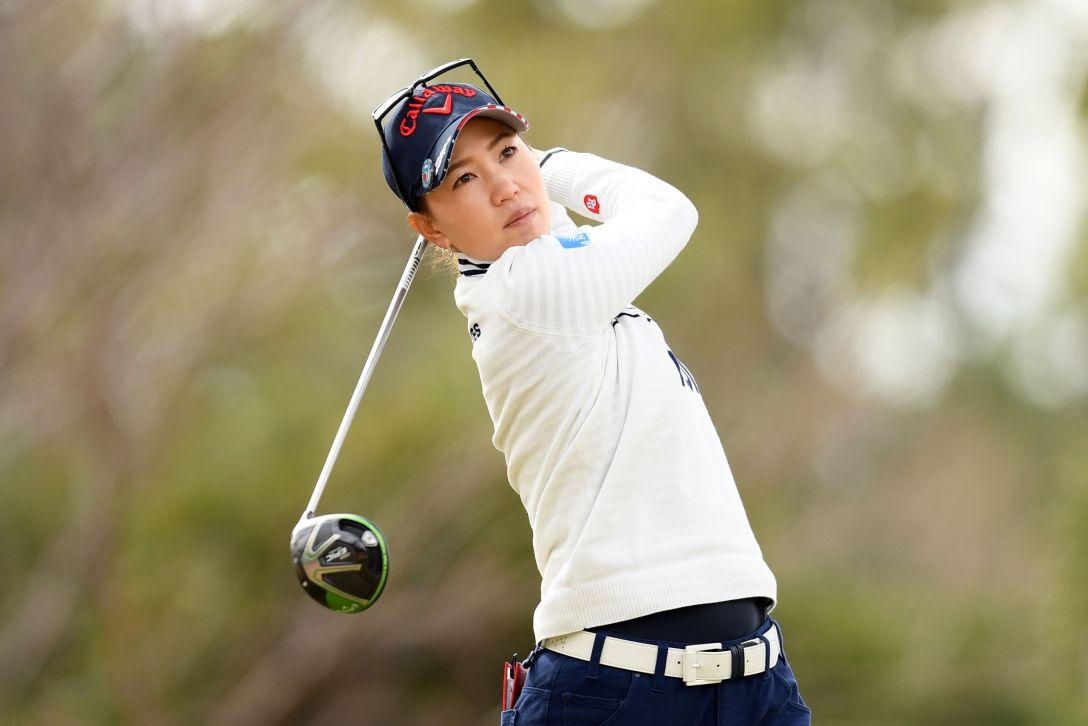 ヨコハマタイヤゴルフトーナメント PRGRレディスカップ 第1日 上田桃子 <Photo:Atsushi Tomura/Getty Images>