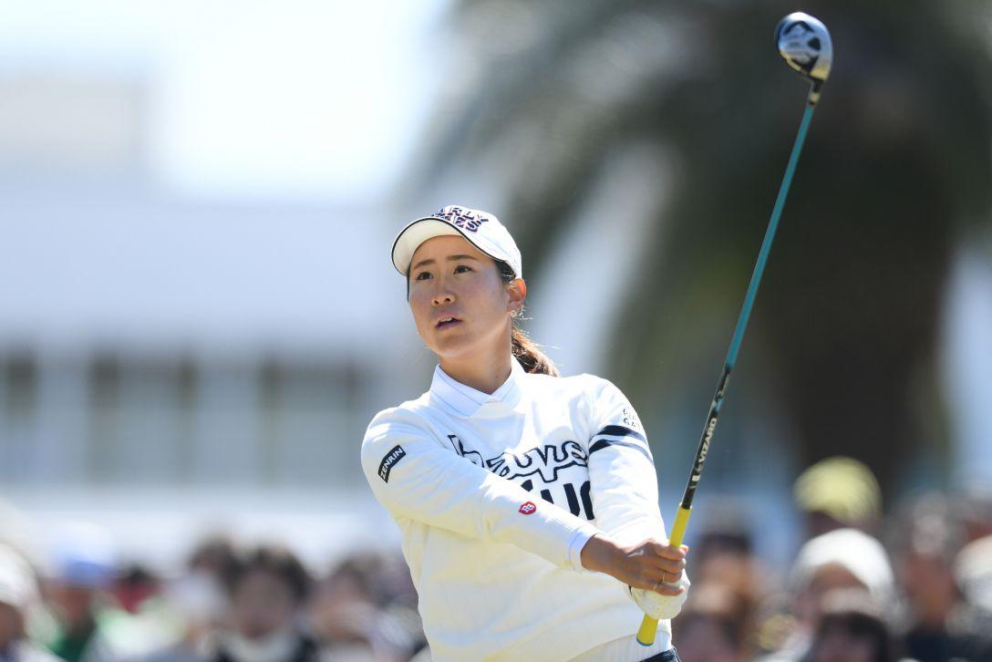 ヨコハマタイヤゴルフトーナメント PRGRレディスカップ 第2日 木戸 愛 <Photo:Atsushi Tomura/Getty Images>