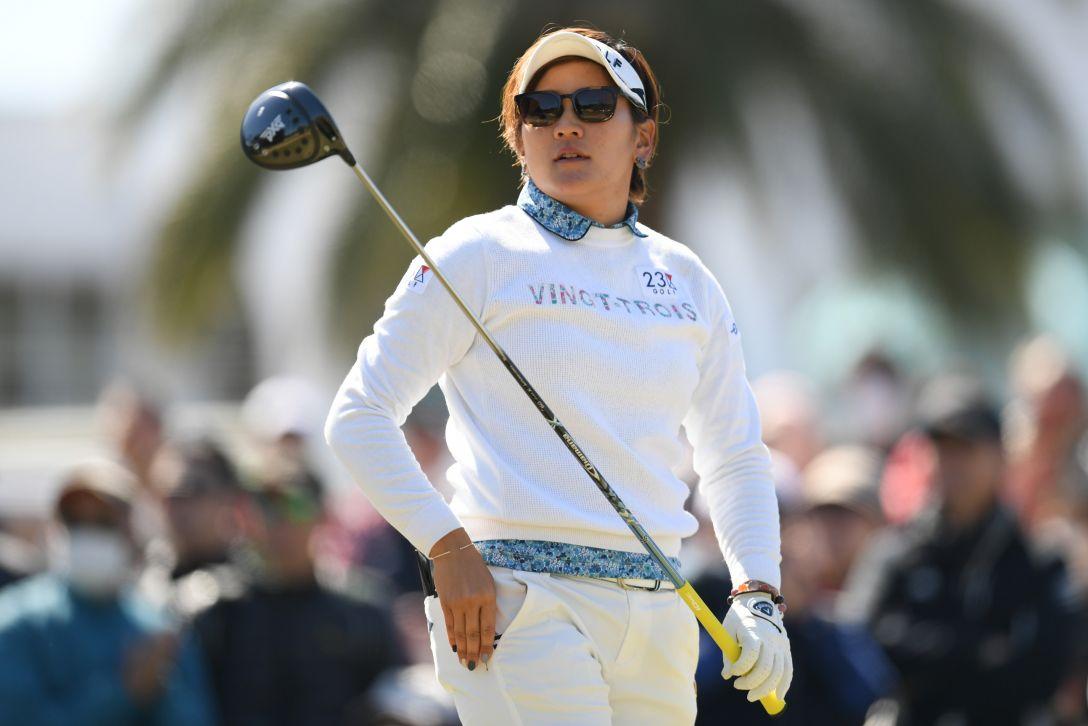 ヨコハマタイヤゴルフトーナメント PRGRレディスカップ 第2日 成田 美寿々 <Photo:Atsushi Tomura/Getty Images>