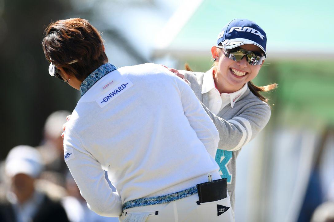 ヨコハマタイヤゴルフトーナメント PRGRレディスカップ 第2日 江澤 亜弥 <Photo:Atsushi Tomura/Getty Images>