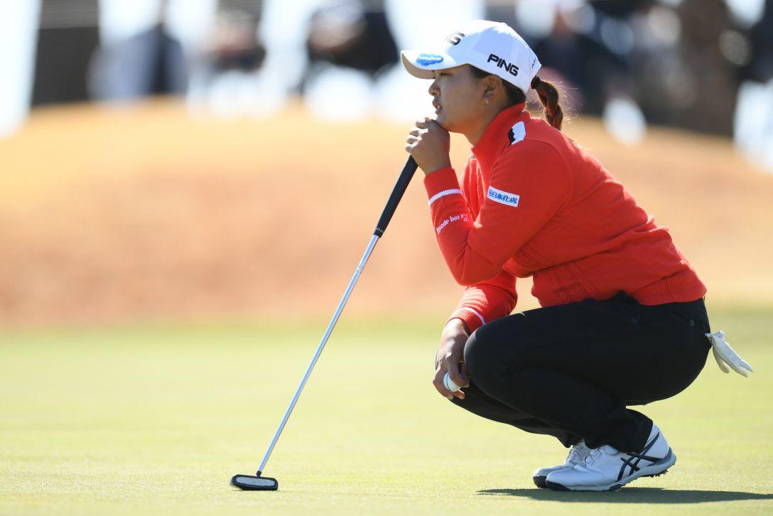 ヨコハマタイヤゴルフトーナメント PRGRレディスカップ 第2日 鈴木 愛 <Photo:Atsushi Tomura/Getty Images>