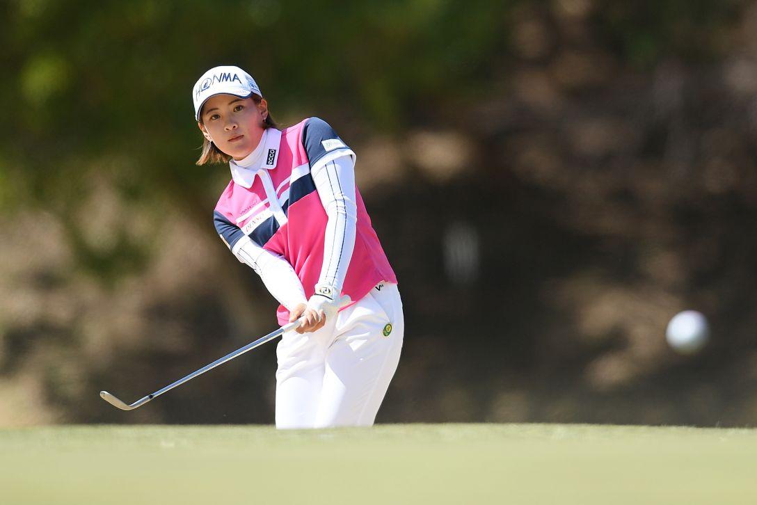 ヨコハマタイヤゴルフトーナメント PRGRレディスカップ 最終日 永井 花奈 <Photo:Atsushi Tomura/Getty Images>