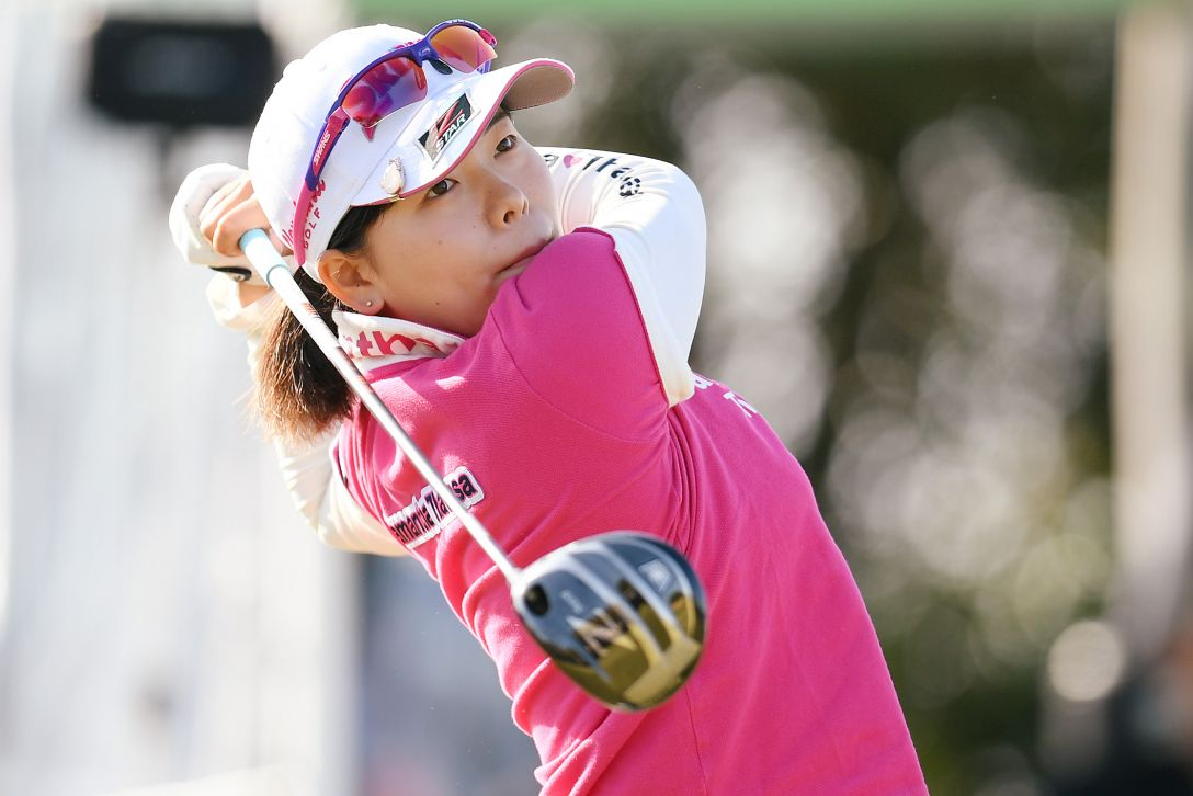 ヨコハマタイヤゴルフトーナメント PRGRレディスカップ 最終日 勝 みなみ <Photo:Atsushi Tomura/Getty Images>