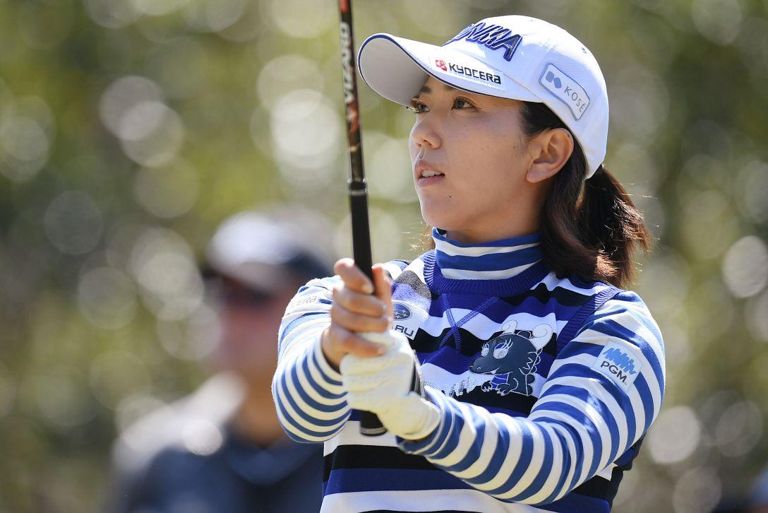 ヨコハマタイヤゴルフトーナメント PRGRレディスカップ 最終日 笠 りつ子 <Photo:Atsushi Tomura/Getty Images>