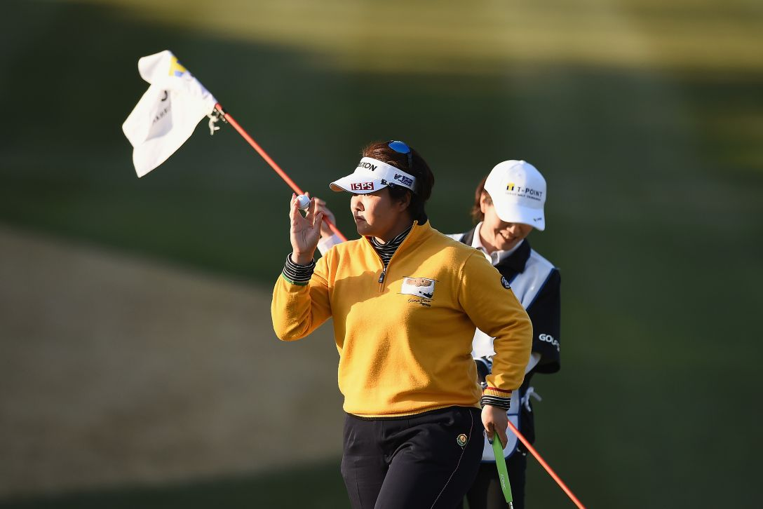 Tポイントレディス ゴルフトーナメント 第2日 酒井 美紀 <Photo:Matt Roberts/Getty Images>