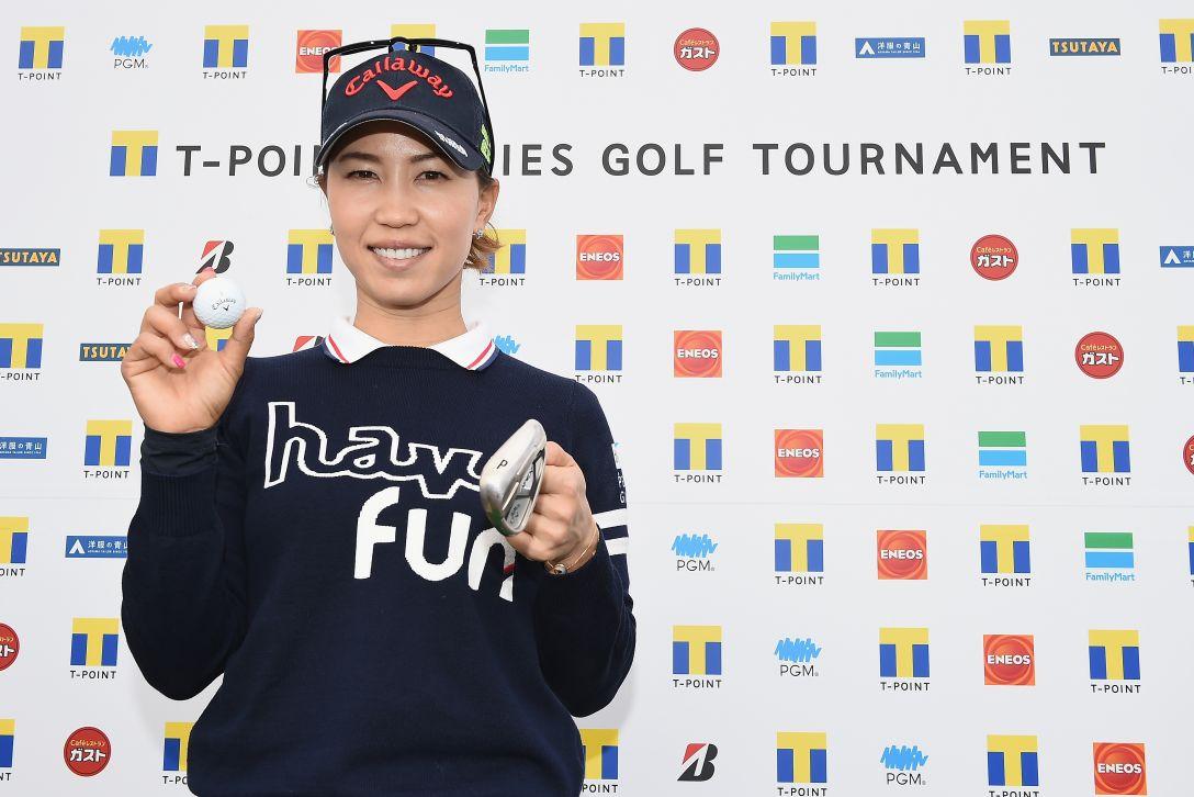 Tポイントレディス ゴルフトーナメント 最終日 上田 桃子 <Photo:Matt Roberts/Getty Images>