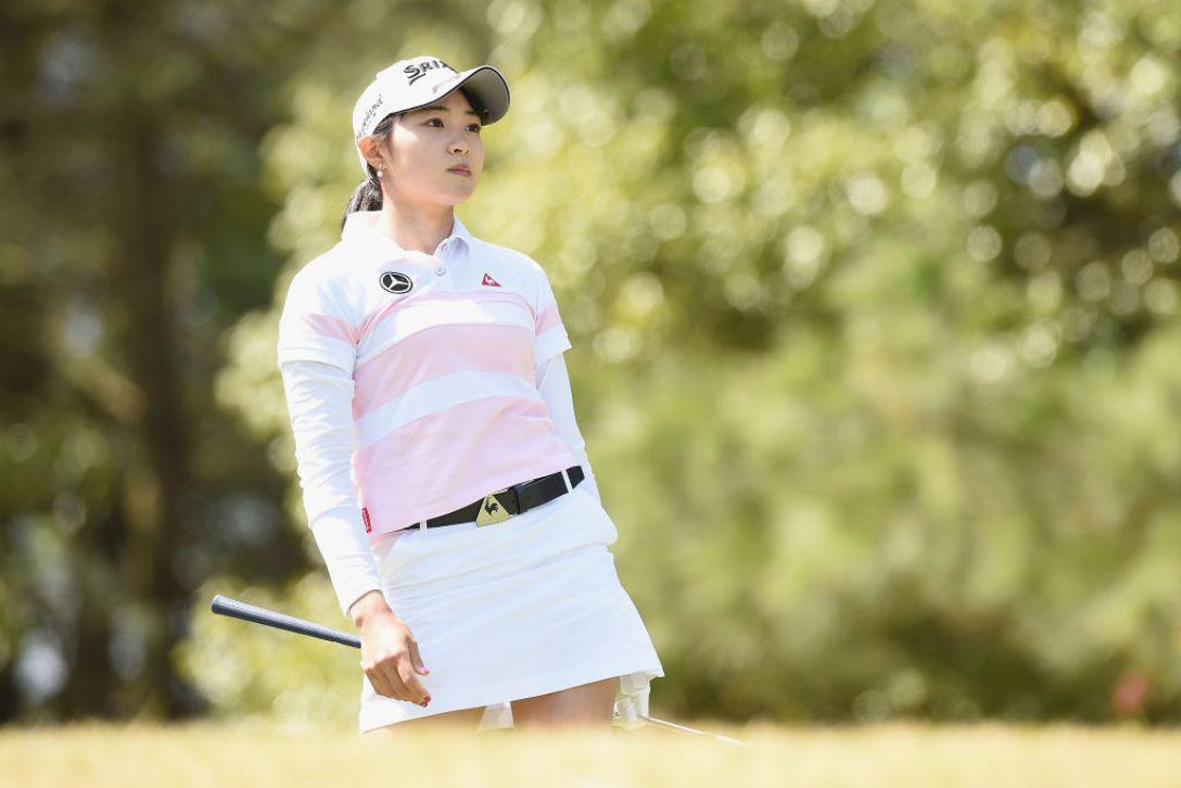 アクサレディスゴルフトーナメント in MIYAZAKI 第1日 三浦桃香 <Photo:Matt Roberts/Getty Images>