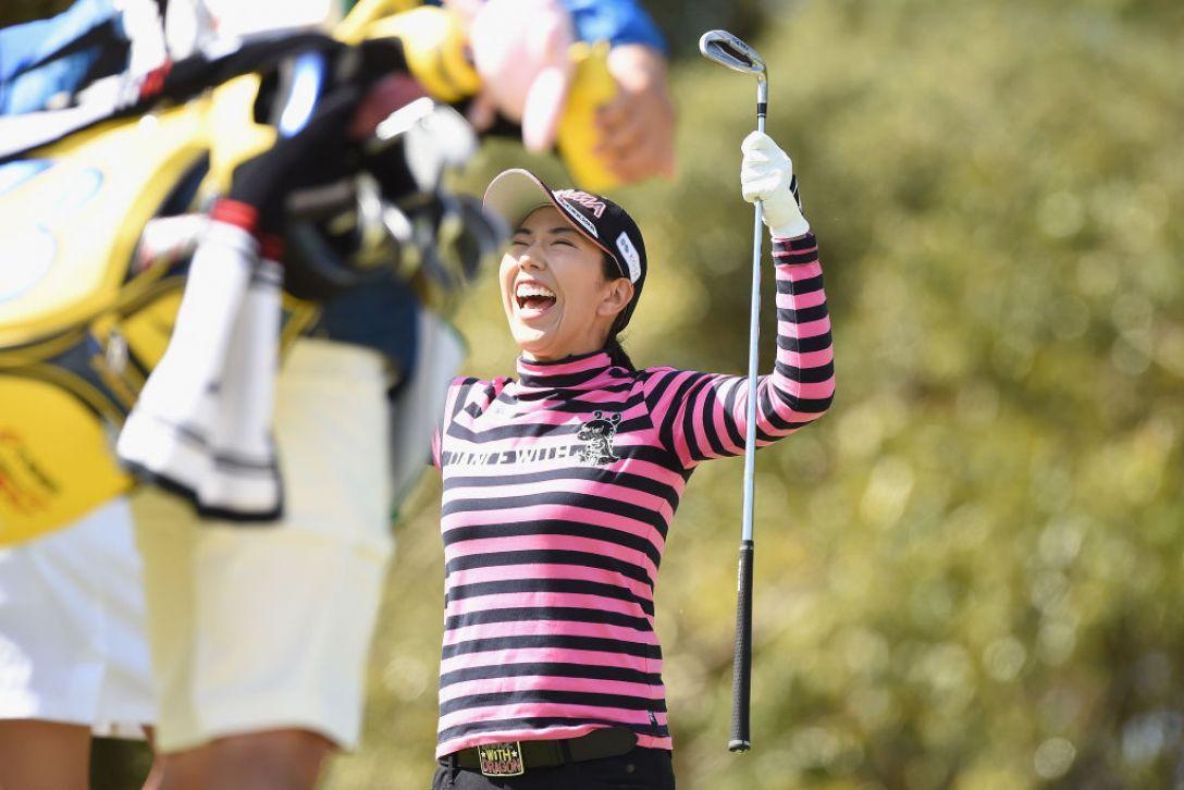アクサレディスゴルフトーナメント in MIYAZAKI 第1日 笠りつ子 <Photo:Matt Roberts/Getty Images>