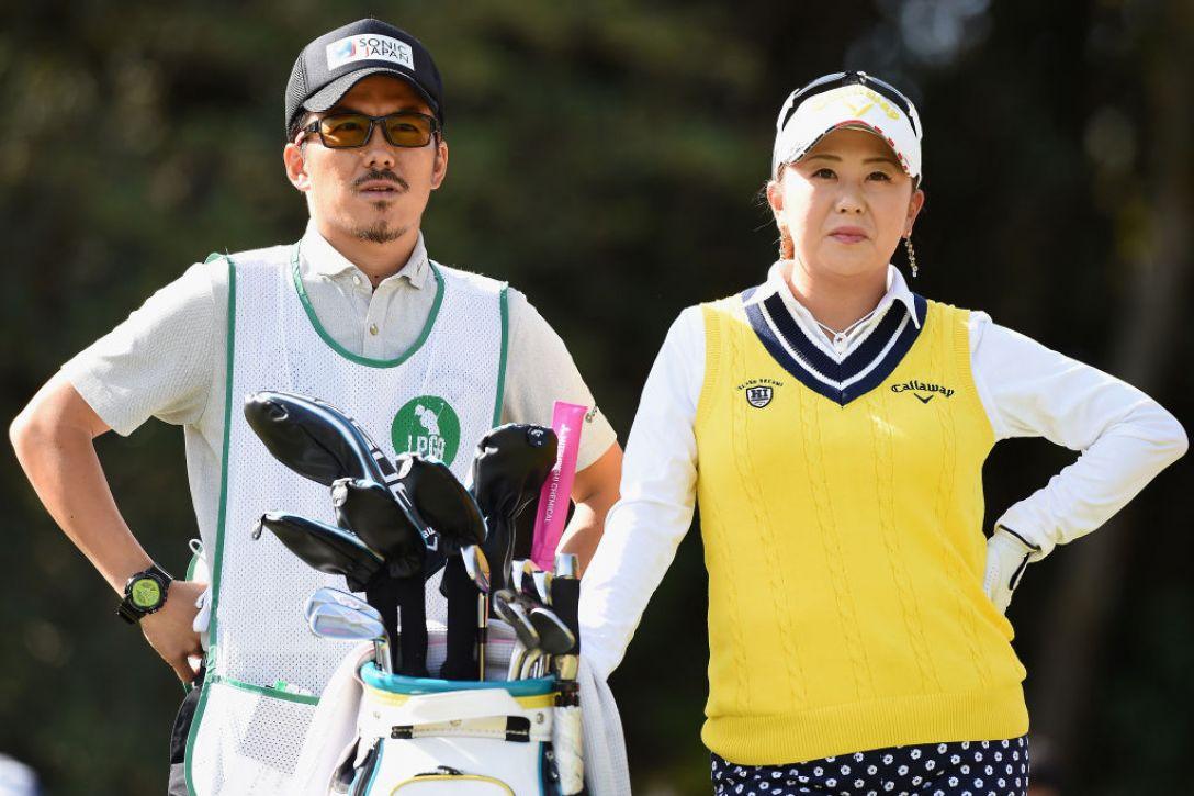 アクサレディスゴルフトーナメント in MIYAZAKI 第1日 佐伯三貴 <Photo:Matt Roberts/Getty Images>