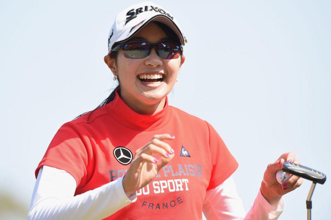 アクサレディスゴルフトーナメント in MIYAZAKI 第2日 三浦桃香 <Photo:Matt Roberts/Getty Images>