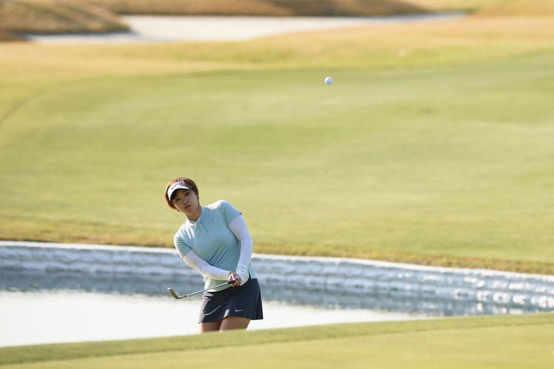 アクサレディスゴルフトーナメント in MIYAZAKI 第2日 葭葉ルミ <Photo:Matt Roberts/Getty Images>