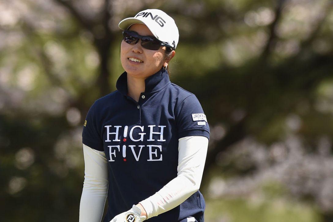 アクサレディスゴルフトーナメント in MIYAZAKI 第2日 比嘉真美子 <Photo:Matt Roberts/Getty Images>