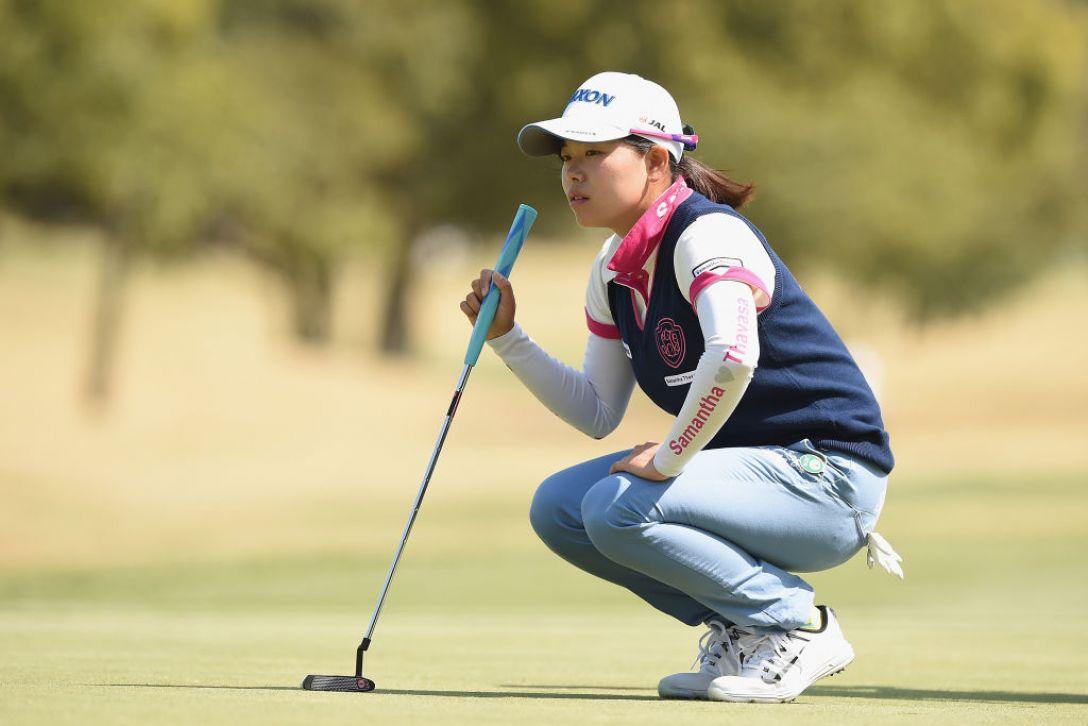 アクサレディスゴルフトーナメント in MIYAZAKI 第2日 勝みなみ <Photo:Matt Roberts/Getty Images>