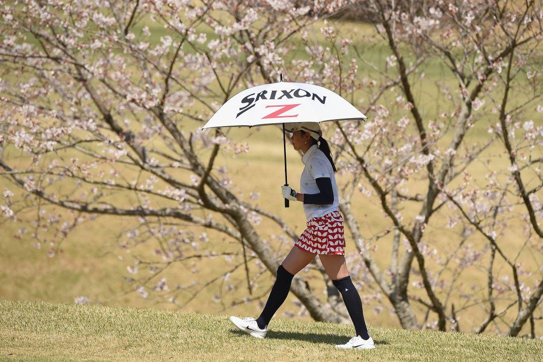 アクサレディスゴルフトーナメント in MIYAZAKI 最終日 三浦桃香 <Photo:Matt Roberts/Getty Images>