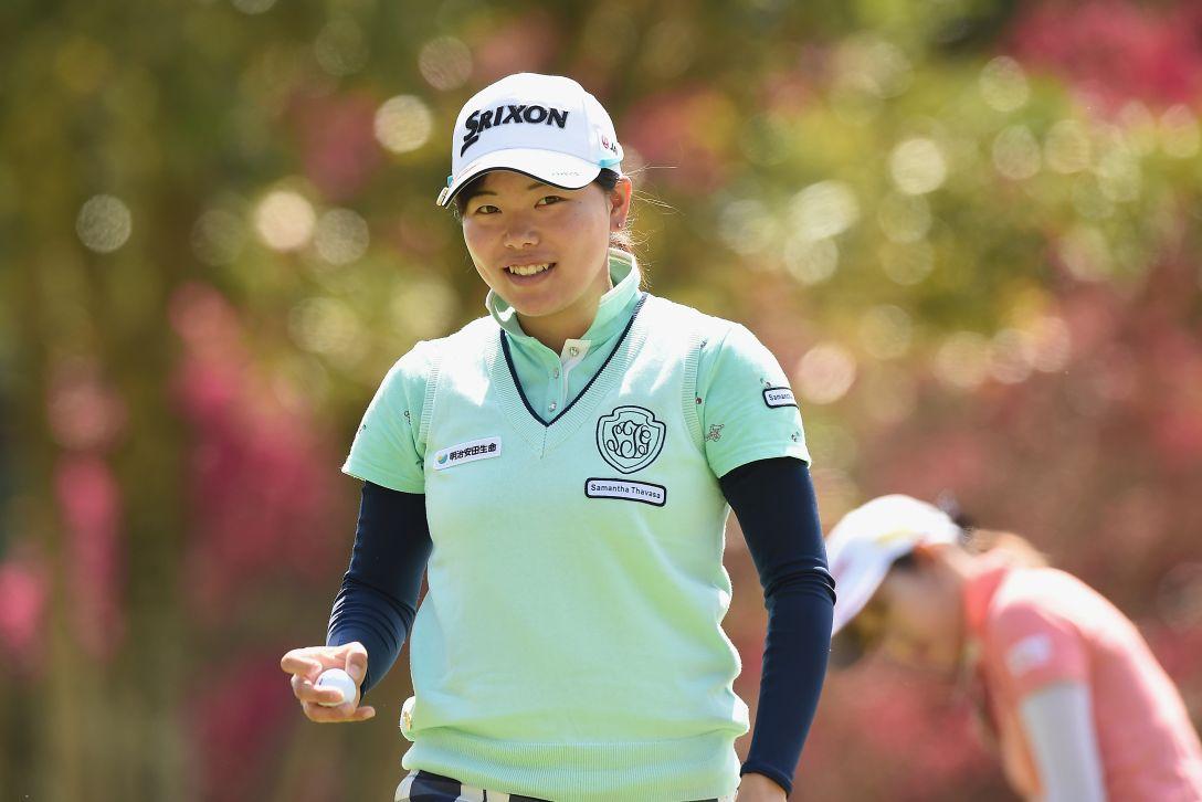 アクサレディスゴルフトーナメント in MIYAZAKI 最終日 勝みなみ <Photo:Matt Roberts/Getty Images>