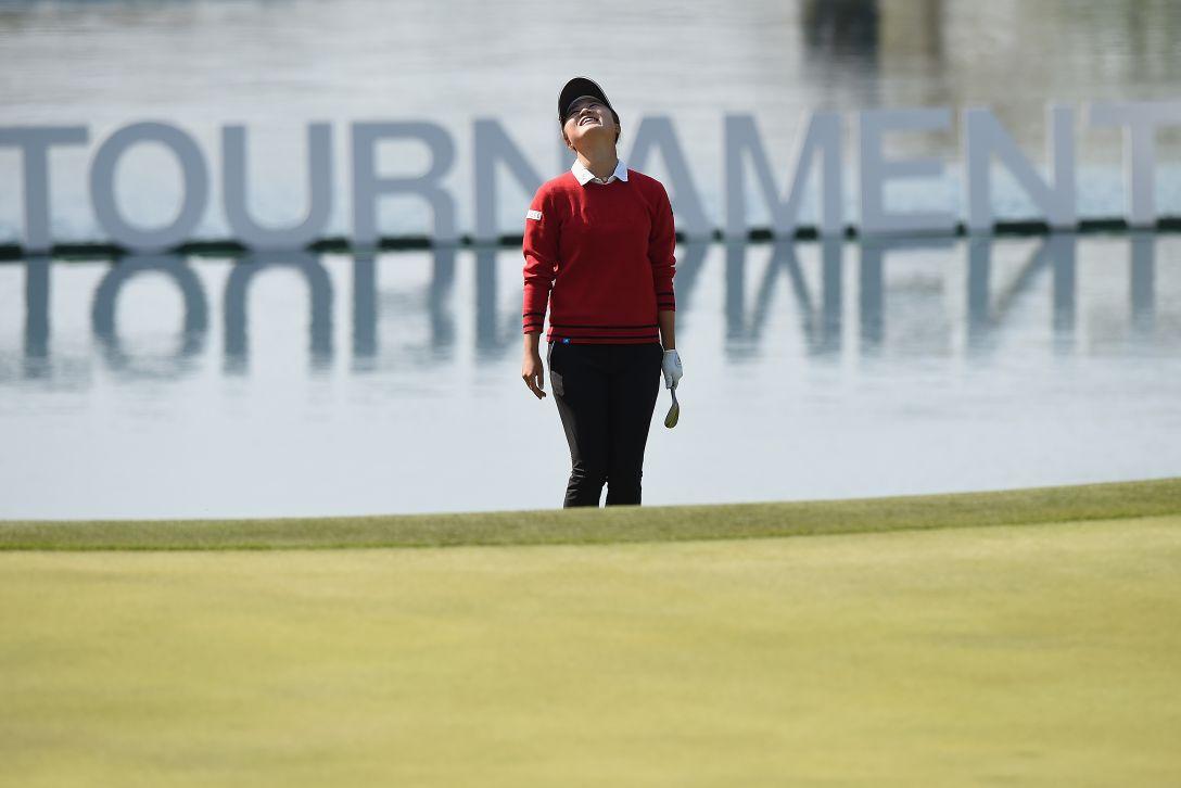 アクサレディスゴルフトーナメント in MIYAZAKI 最終日 森田遥 <Photo:Matt Roberts/Getty Images>