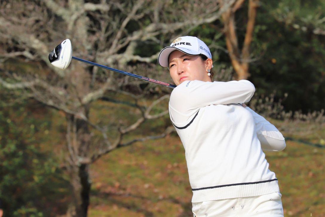Hanasaka Ladies Yanmar Golf Tournament 第1日 立浦葉由乃