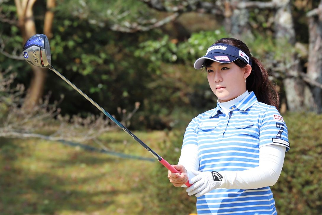 Hanasaka Ladies Yanmar Golf Tournament 第1日 香妻琴乃