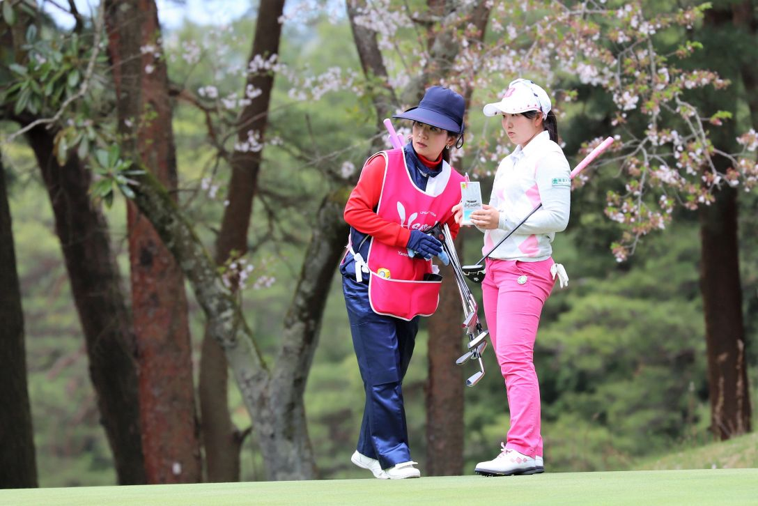 Hanasaka Ladies Yanmar Golf Tournament 第2日 工藤優海