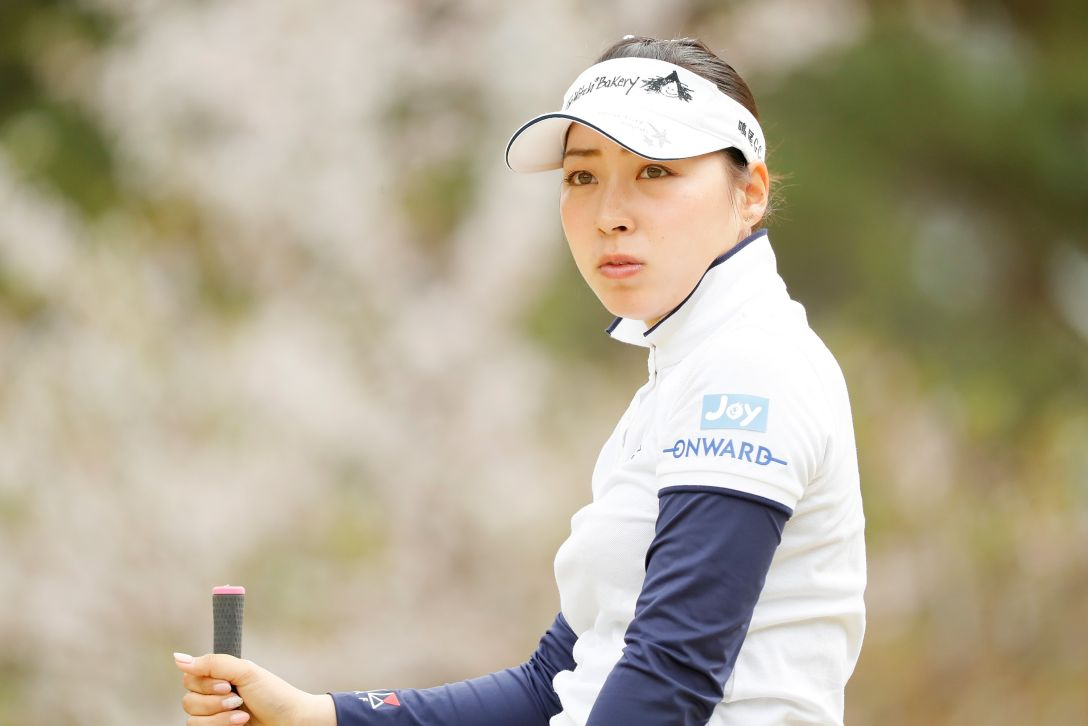 Hanasaka Ladies Yanmar Golf Tournament 最終日 坂下莉翔子 <Photo:Ken Ishii/Getty Images>