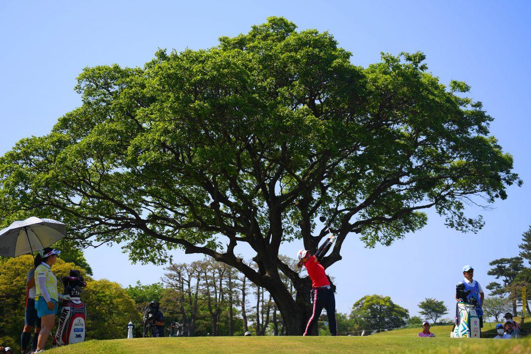 フジサンケイレディスクラシック 最終日 勝みなみ <Photo:Atsushi Tomura/Getty Images>