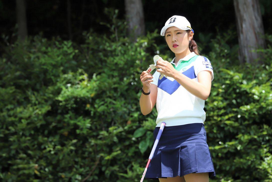 九州みらい建設グループレディースゴルフトーナメント 第1日 高木 萌衣