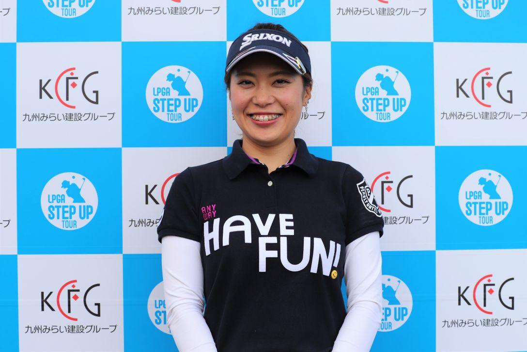 九州みらい建設グループレディースゴルフトーナメント 第1日 中井 美有