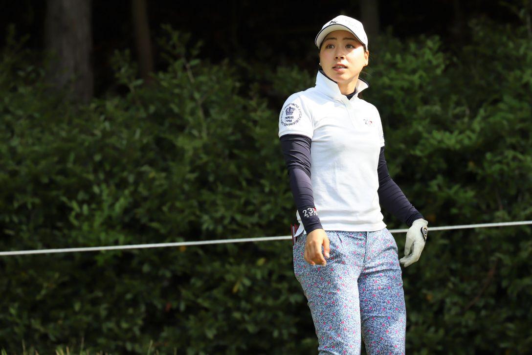 九州みらい建設グループレディースゴルフトーナメント 第1日 坂下 莉翔子