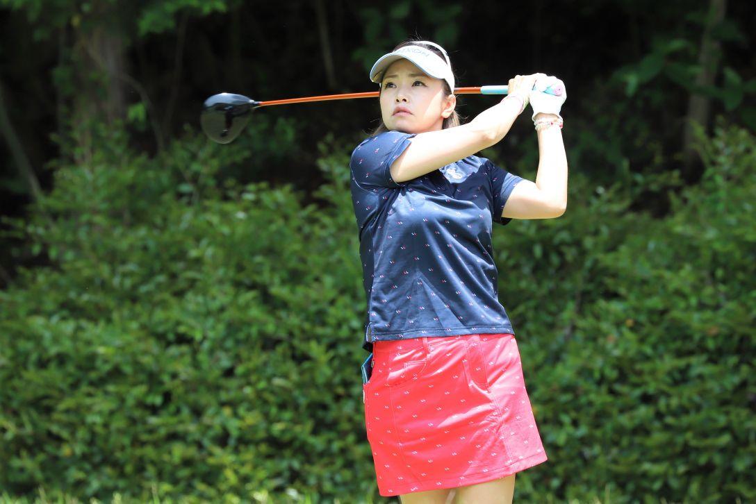 九州みらい建設グループレディースゴルフトーナメント 第1日 青山 加織