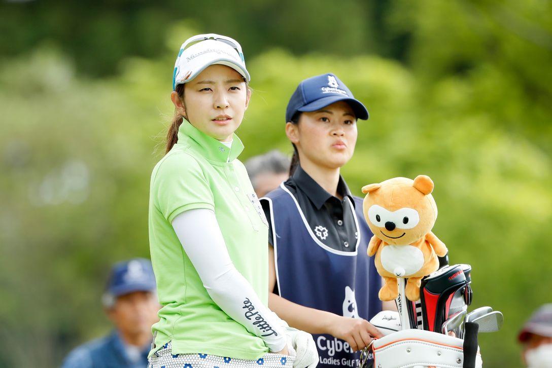 サイバーエージェント レディスゴルフトーナメント 第1日 斉藤愛璃 <Photo:Ken Ishii/Getty Images>