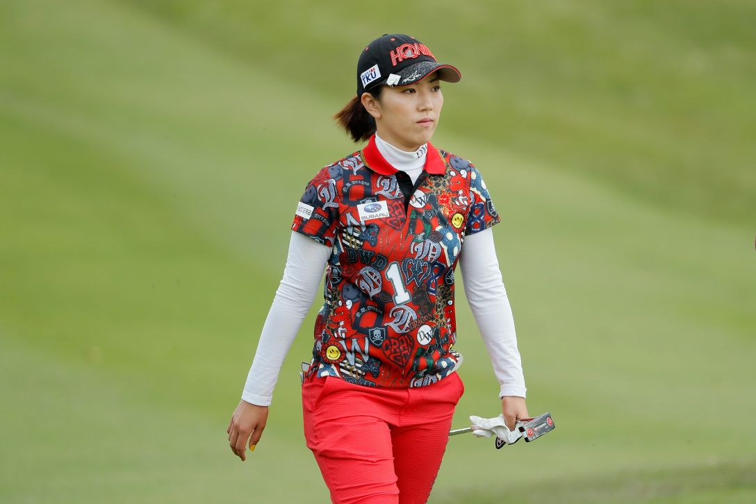 サイバーエージェント レディスゴルフトーナメント 第1日 笠りつ子 <Photo:Ken Ishii/Getty Images>