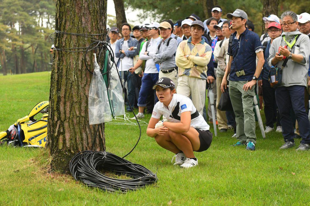 ワールドレディスチャンピオンシップ サロンパスカップ 第1日 渡邉彩香 <Photo:Atsushi Tomura/Getty Images>