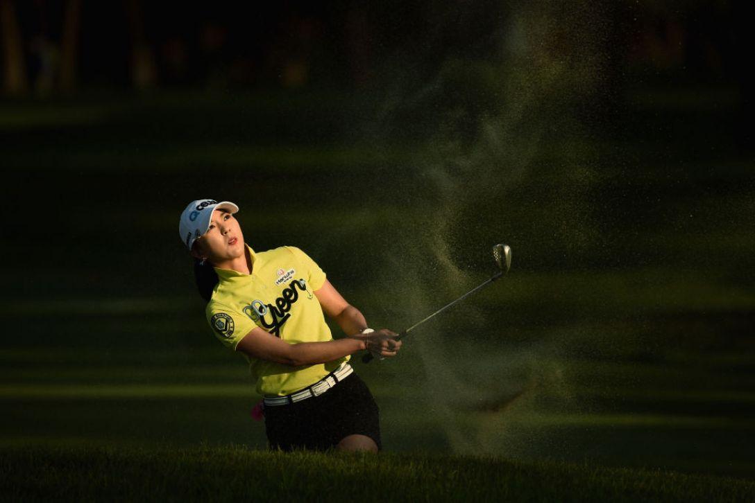 ワールドレディスチャンピオンシップ サロンパスカップ 第3日 ユンチェヨン <Photo:Matt Roberts/Getty Images>